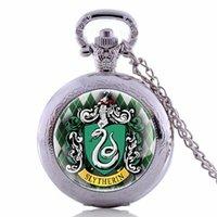 bolsillo de metal completo al por mayor-Regalos reloj de bolsillo vendedor caliente de Full Metal Alchemist Steampunk colgante collar de reloj de cuarzo para Hombres Mujeres Niños