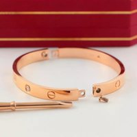 Wholesale bangle for sale - 1pcs Fashion Titanium Steel Love Bracelets silver rose gold bracelet Bangles Women Men Screw Screwdriver Bracelet Couple Jewelry