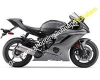 yamaha r6 gri toptan satış-Kaporta Yamaha Motosiklet YZF R6 Için Fit 2017 2018 YZF-R6 17 18 Spor Gri Motosiklet Satış Sonrası Kiti Parçaları (Enjeksiyon kalıplama)