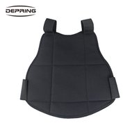 Wholesale vest body armor online - Paintball Vest Body Armor Chest Protector Airsoft Lightweight Soft Padded Back Support Free Size Hunting Bag