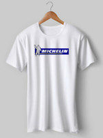 Wholesale red green black cycling jersey resale online - Michelin Man T Shirt Tee Cycling T shirt Vintage bike Jersey Top Eroica Printed