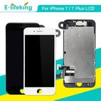hochwertige kameras großhandel-Volle Montage für iPhone 7 7 Plus LCD Display Touchscreen Digitizer Ersatz mit Frontkamera Teile Top Qualität