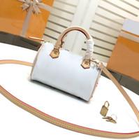 Wholesale designer female wallets resale online - NEONOE shoulder bag Noé leather Pillow bag female brand designer fashion handbag flower print Messenger bag wallet TWIST