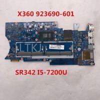 hp pavilion laptop motherboard cpu venda por atacado-Alta qualidade para Pavilion X360 Laptop motherboard 923690-601 16872-1 448.0C204.0011 Com SR342 I5-7200U CPU 100% cheio Testado