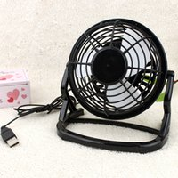 ingrosso ventilatore per scrivania-2019 Ventilatore USB Mini Ventilatori portatili Tavolo Scrivania Personal Black Pink Green Gadgets Dropshipping for Notebook Laptop Usb Gadget