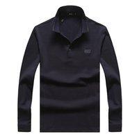 estilo alaranjado do polo camiseta venda por atacado-36 MODELO 2020 homens jaqueta de luxo pull de luxe camisas pólo jumper de abelha estilo italiano laranja vermelho marrom tamanho dos homens M-3XL GUOZH5