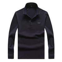orange polo-stil hemden großhandel-36MODEL 2020 Herren Luxus Jacke Pull De Luxe Polo Shirts Designer Pullover Bee italienischen Stil Orange Rot Braun Herren Größe M-3XL GUOZH5