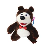 Wholesale masha bear toys for sale - New Kids Toys Birthday Gifts Popular Masha Plush Dolls Cute Bear High Quality Russian Masha Stuffed Toys