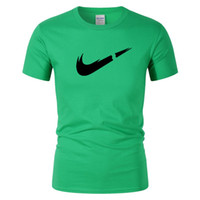 ingrosso custom t shirt-2019 New Designer Just Color T Shirt Uomo Cotone Casual T-shirt Estate Skateboard Tee Boy Skate Tshirt Tops Grafica personalizzata Basta romperlo