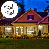 venda de luzes de rua led venda por atacado-Venda quente 4 Pcs Ao Ar Livre 36 LED Energia Solar PIR Sensor de Movimento Wall Street Light Garden Lamp