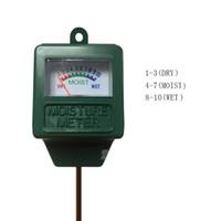 medidor de ph para el suelo al por mayor-Sonda de riego Medidor de humedad del suelo Precisión Probador de pH del suelo Medidor de humedad Analizador Sonda de medición para flores de plantas de jardín
