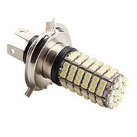 Wholesale blub lamp for sale - Group buy H4 W x3528 SMD K White Light LED Blub for Car Lamps DC V
