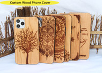 Wholesale bumpers iphone dhl for sale – best Factory Custom Wood Cases Designs For iphone x xr xs max plus Bumper Wooden Bamboo Mobile Phone Cover Shockproof High Quality DHL Free