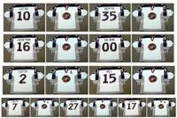 olimpik hokey mayo xxl toptan satış-Vintage 1998 ABD Olimpiyat Formaları 10 JOHN LeCLAIR 35 MIKE RICHTER 16 PAT LAFONTAINE 2 BRIAN LEETCH 15 BRETT HULL Beyaz Özel Hokey Forması
