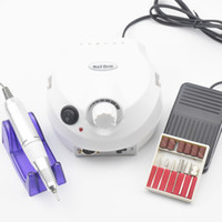 Wholesale pro tools nail file machine for sale - Group buy 35000RPM Pro Electric Nail Drill Machine Electric Manicure Machine Drills Accessory Pedicure Kit Nail Drill File Bit Tools