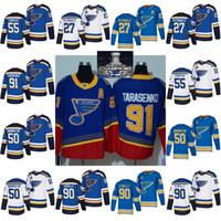 Wholesale parayko jersey resale online - 2019 Stanley Cup Champions jersey St Louis Blues Binnington Schwartz Ryan O Reilly Colton Parayko Schenn Vladimir hockey jerseys