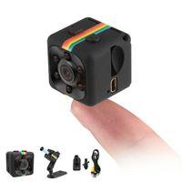 Wholesale mini camera camcorder resale online - Thumb Camera SQ11 HD Surveillance Camcorder HD Night Vision P Sports Mini Pocket DV Portable Video Recorder With Motion Detection