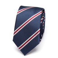 Hot Homme Noeud Papillon Cravate Cachemire à Rayures Cravate Polyester Business Mariage Jacquard