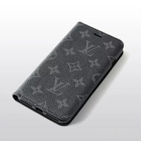 Wholesale Suitable for iPhone Pro MAX XS XR X Plus stylish mobile phone case contrast leather case