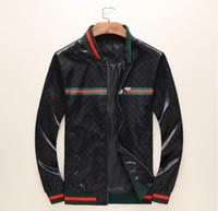 ingrosso cerniere posto-Brand new 2019 mens designer giacche di lusso giacca a vento windrunner uomini bomber donne giacca riflettente tuta sportiva giacca cappotti vestiti