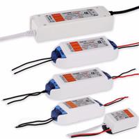 fuente de alimentación de 48w al por mayor-DC 12V Cargador convertidor de conmutación 18W 28W 48W 72W 100W LED Adaptador de controlador Transformador Fuente de alimentación para 5050 LED luces de tira