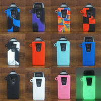 Wholesale free electronic kits for sale - Group buy Nautilus AIO Case Vape POD Starter Kit Silicone Cases Cover Silicon Leather Skin electronic cigarettes dhl free
