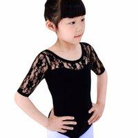 ingrosso abiti di giacca di balletto-Balletto per bambina Dancewear Ginnastica Body per gonna in pizzo Tutu