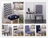 ziyafet sandalye örtüsü süsleri toptan satış-Spandex streç düğün ev sandalye kapak ziyafet parti dekorasyon restoran koltuk örtüsü
