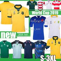 irlanda xl camisa de rugby venda por atacado-2019 Escócia Austrália Jersey de Rugby Irlanda Japão África do Sul camisas 2019 Janpan Campeonato Mundial de rugby liga camisas