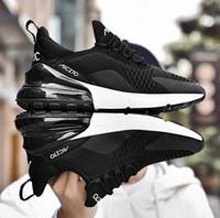 sapatos confortáveis masculinos venda por atacado-Respirável ao ar livre sapatos desportivos sapatos aptidão dos homens tênis ao ar livre calçado confortável adulto fundo Elastic corrida tênis masculino