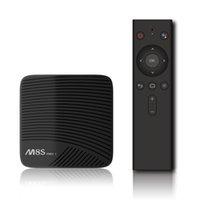 ingrosso a distanza-MECOOL M8S PRO L ATV TV Android OS Amlogic S912 3 GB 16 GB 32 GB Octa core Dual Wifi Voice Remote Smart TV Box