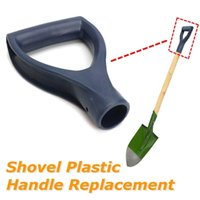Wholesale plastic spades shovels resale online - Garden Plastic Shovel Handle Replacement Accessories Fork Spade Snow Scoop Handle Digging Tools Hand Protect Gardening Tools