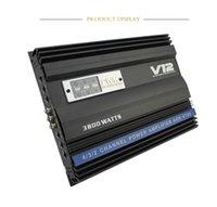 placa de poder do alto-falante venda por atacado-4 alto-falantes de áudio do carro amplificador amplificador de potência do amplificador bordo empurram o carro de quatro canais