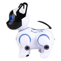 Wholesale dancing toy remote for sale - Group buy Electronic Smart Robot Dogs Remote Control Machine Dog Universal Walking Singing Dancing Kids Early Educational Toys T9