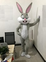 mascote, coelho, coelho, traje venda por atacado-2018 Desconto venda de fábrica Profissional da Páscoa Coelho Trajes Da Mascote Coelho e Bugs Bunny adulto mascote para venda