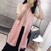 Wholesale optional scarf for sale - Group buy Fashionble Design Scarfs Luxury Scarf Hot Womens Brand Shawl Scarf Autumn Long Neck Colors Optional X70cm High Quality
