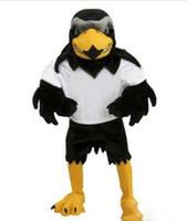 großes vogelkleid groihandel-Neue Beruf Falcon Maskottchen Maskottchen Kostüme Halloween Cartoon Erwachsene Größe Plüsch Adler große vögel Phantasie Party Kleid