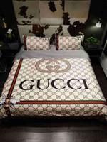 westliche bettwäsche setzt königin großhandel-Luxus lila lila Bettwäsche Set Königin Bettbezug Kingsize-Doppelbett in einem Beutel Blatt Leinen Quilt Doona Bettlaken Schlafzimmer Tencel Western