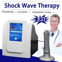 usar pene al por mayor-Máquina de alivio de dolor de onda de choque extracorpórea 2019 Máquina de artritis Pene Choque eléctrico Equipo de disfunción eréctil uso aprobado manual