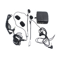 Wholesale diameter plug for sale - Group buy MP3 Motor Helmet Headset Modified Motorcycle Helmet Intercom Headphones Accessories mm Plug Diameter
