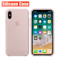Wholesale original iphone china resale online - Original Designer Phone Cases For iPhone X XR XS MAX Plus Case Cover Luxury Silicone Phone Case with Package