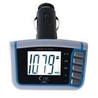 mmc продажа оптовых-2018 горячей продажи моды LCD Автомобильный MP3 MP4 плеер беспроводной FM передатчик модулятор SD / MMC Вт / Пульт дистанционного очень хорошо
