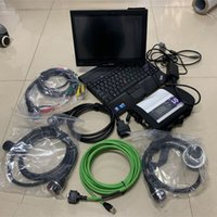 Wholesale tablet honda resale online - mb star diagnosis c4 super ssd laptop x201t i7 g tablet full cables ready to use scanner for benz