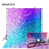партийный реквизит оптовых-MEHOFOTO Backdrop for Colorful Photography Makeup Photobooth Studio Video Props (Not Glitter) Party Banner Decoration Background