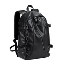 bolsa de lona de couro mochila venda por atacado-couro estudante de moda de lona preta Backpack Doxford Shoulder Bag Outdoor Mochilas escolares Viajar grils tamanho Estudantes Mochilas 45 * 30 * 17 centímetros