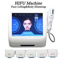 máquina portátil de ultra-som para rugas venda por atacado-FDA padrão portátil hifu máquina de alta intensidade focada ultra-som lifting facial pele lifting sistema de remoção de rugas beleza