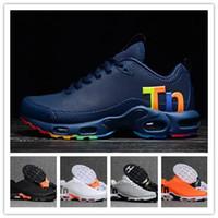 Wholesale plus size mens shoes resale online - Original Tn Mercurial Tn Plus Mens Designer Sneakers Chaussures Homme Tns Men Running Shoes Rainbow Women Sport Trainers Sizes Eur40