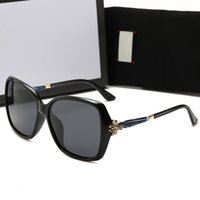 homens s óculos de sol arredondado venda por atacado-Óculos de sol de luxo das mulheres óculos de sol anti-azul luz óculos com designer full frame para mulheres homens adumbral marca quente rodada de vidro com caixa