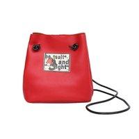 ingrosso grande borsa in pelle per la scuola-Mara 'S Dream 2019 Borse donna Messenger Borse in pelle di alta qualità Hasp Candy Color Casual Tote Big Handbag School Shoulder Bag