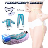 yağ yakıcı zayıflama masaj makinesi toptan satış-Lenfatik drenaj masajı vücut zayıflama makinesi pressotherapy yağ yakma takım CE tarafından Hava basıncı masaj güzellik ekipmanları